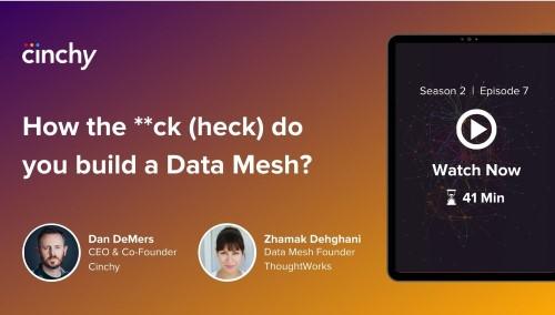 [Season 2 Ep. 7] How the **ck (heck) do you build a Data Mesh?