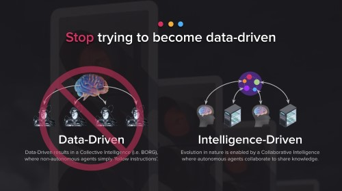 [Micro-Explainer] Stop being data-driven, be intelligence-driven