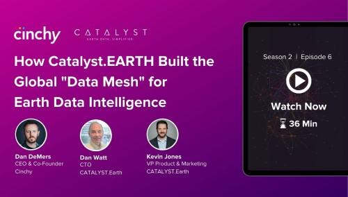 "[Season 2 Ep. 6] How Catalyst.EARTH Built the Global ""Data Mesh"" for Earth Data Intelligence"