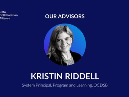 Meet Kristin Riddell, advisor to the Data Collaboration Alliance