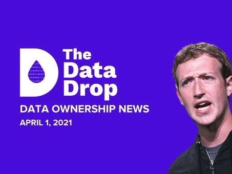 The Data Drop News for Thursday, April 1, 2021