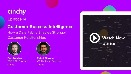 [Season 1 Ep. 14] Customer Success Intelligence. How a Data Fabric enables stronger customer relationships.