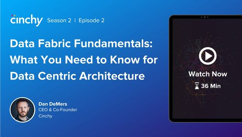 [Season 2 Ep. 2] Data Fabric Fundamentals - A Recap of our Learning Series