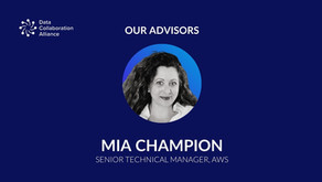 Meet Mia Champion, advisor to the Data Collaboration Alliance