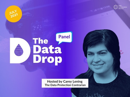 The Data Drop Panel: July 2021