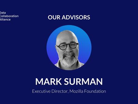 Meet Mark Surman, advisor to the Data Collaboration Alliance