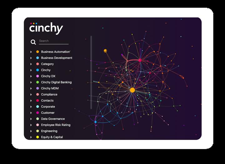 Cinchy Data Network Visualizer