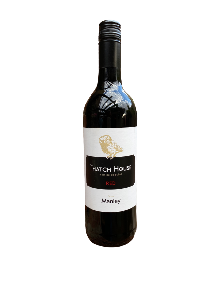 1 x Case (6 bottles) of Manley Thatch House Red