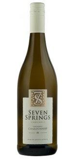 1 x Case (6 bottles) of Seven Springs Unoaked Chardonnay 2016