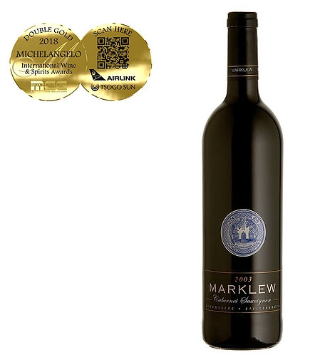 1 x Case (6 bottles) of Marklew Cabernet Sauvignon 2017