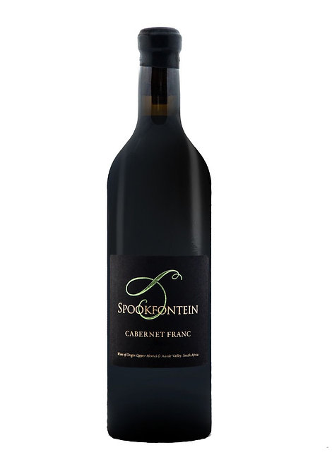 1 x Case (6 bottles) of Spookfontein Cabernet Franc 2016