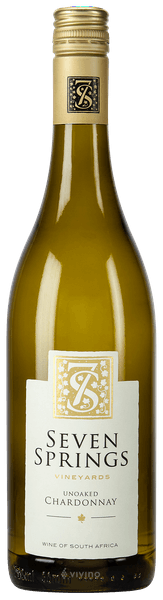 1 x Case (6 bottles) of Seven Springs Unoaked Chardonnay