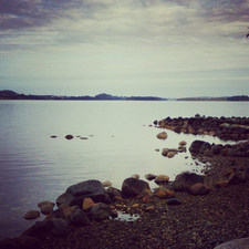 Jeg tror ikke det går ann å få for mange bilder av himmel og hav. Det blir jeg liksom aldrig mett av å se på <3 Utsikt fra Stavager.