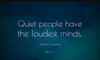 Happy world introvert day