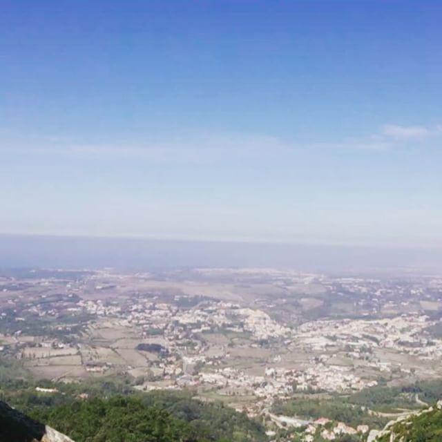 Utsikt fra Palàcio de Pena - Sintra Portugal