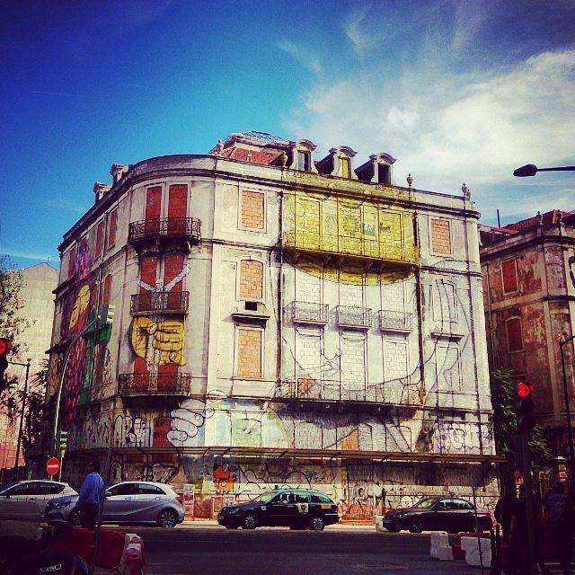 Streetart Lisbon, Portugal