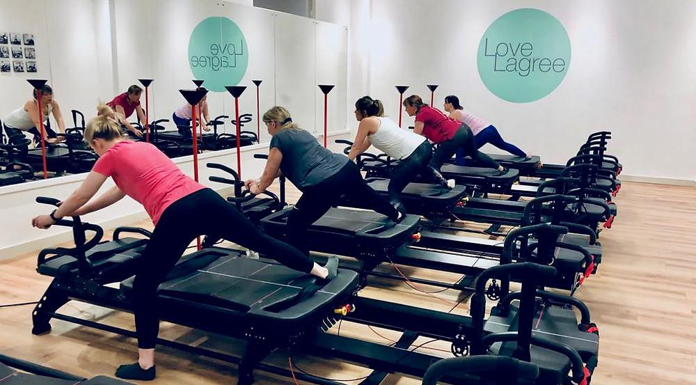 The unique Lagree Fitness Method - at Love Lagree near Cowbridge.