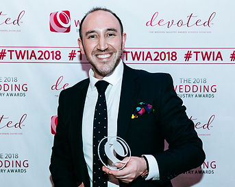Edd Crafer Magician Regional Winner - Wedding Industry Awards