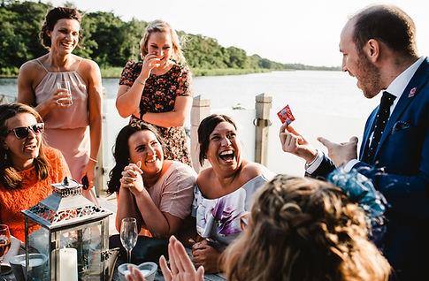Norfolk Wedding Magician Entertainment Edd Crafer