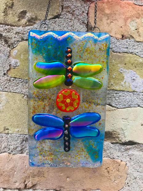 Double Dragonfly Mandala