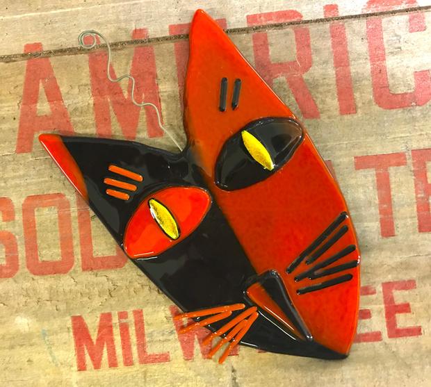 Art Cat - Suncatcher / Wall Art