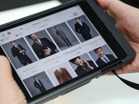 Hawes & Curtis further evolve its digital shopping experience with One iota