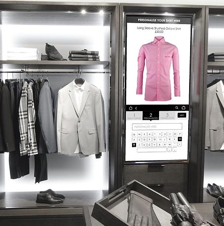 personalisation kiosk