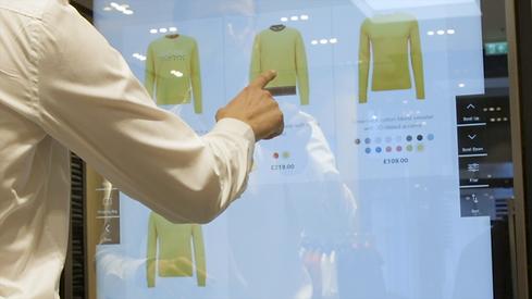 Kiosk Shopping - Hugo Boss