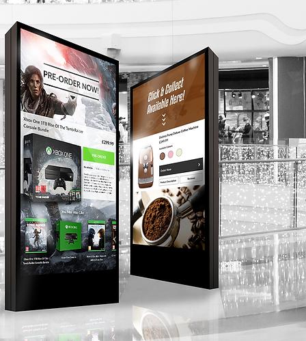 feature kiosk