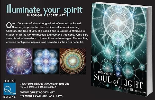 Joma Sipe Soul of Light jomasipe mandala mandalas symbolism symbolist art visionary sacred