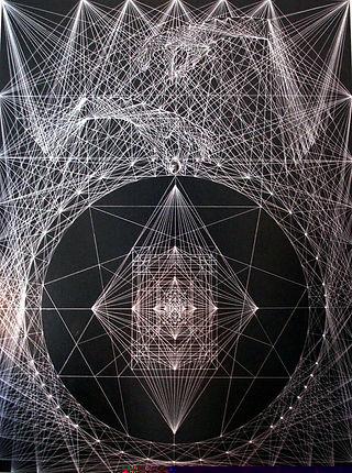 Joma Sipe The Key of Life jomasipe symbolist art sacred geometry mandalas mandala