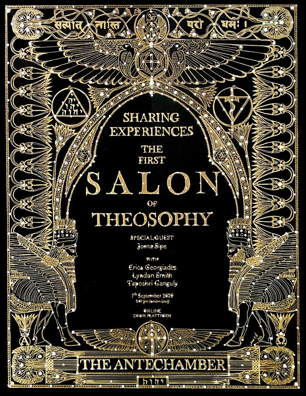 The First Salon of Theosophy (FINAL FINI