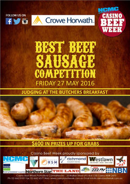 Casino beef week 2018 results