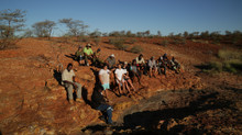 Sydney students travel to the heart of Martu country