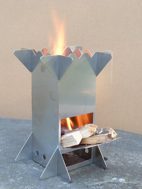 Mini Stove - Portable Camping Rocket Stove