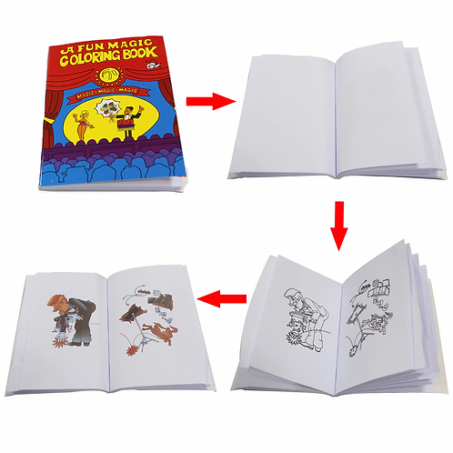 MAGIC MINI COLOURING BOOK