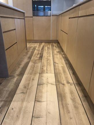 Simplistic plywood doors