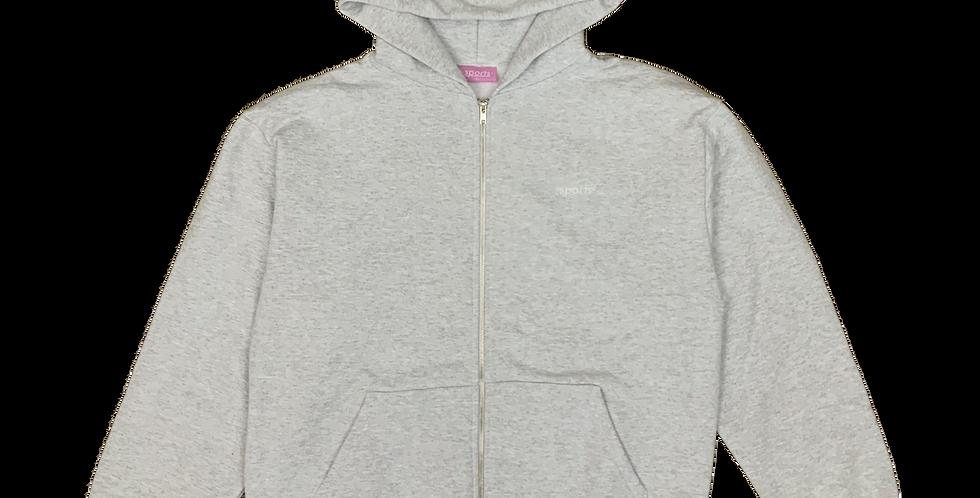 Classic Zip Up Hooded Sweatshirt