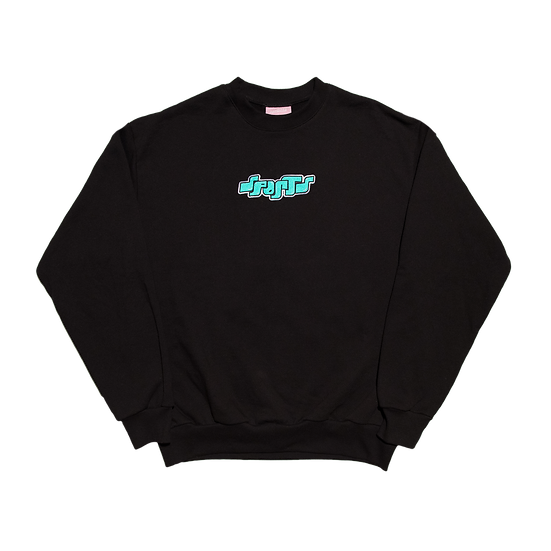 Embroidered Bubble Crewneck