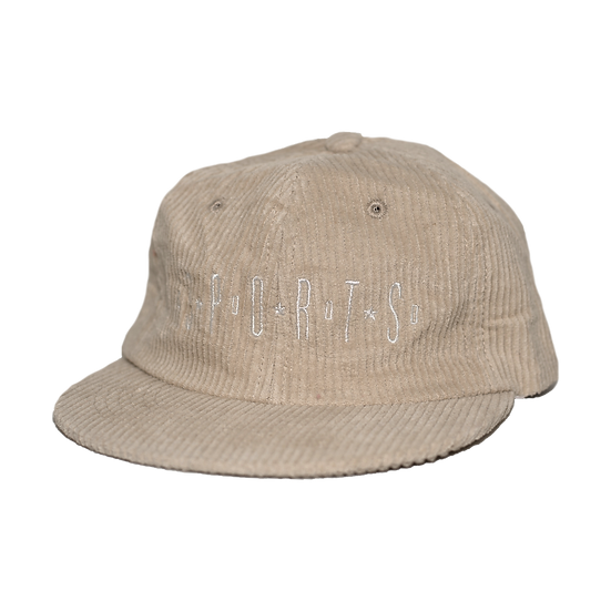Spaced Corduroy cap