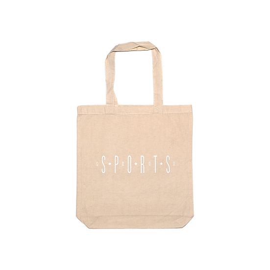 Spaced Puff Print Tote Bag