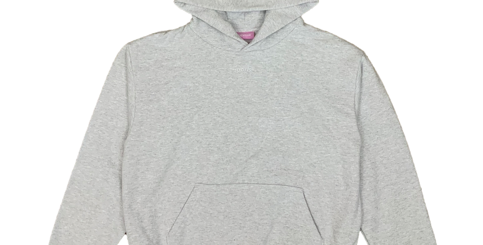 Center Logo Hooded Sweatshirt