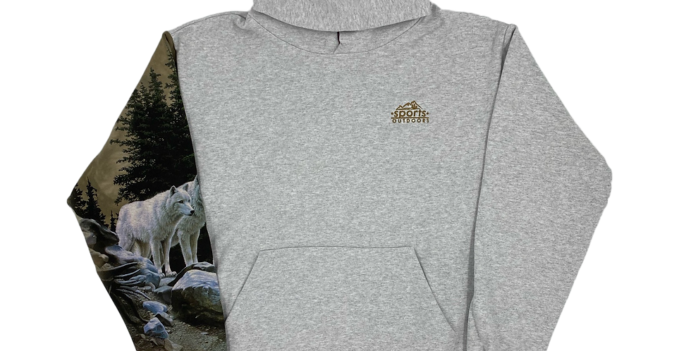 Reworked Nature Hooded Sweatshirt
