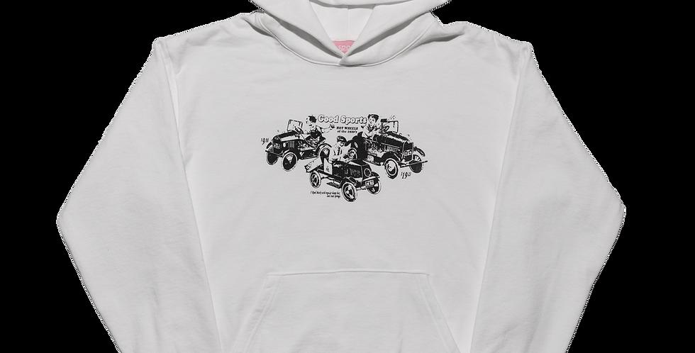 Toy Cars Hooded Sweatshirt