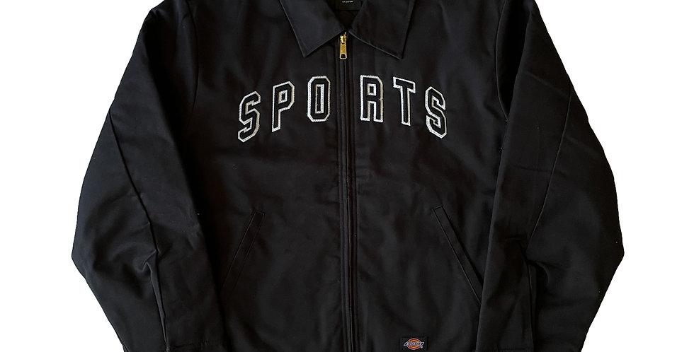 Felt Stitched Arc Logo Work Jacket