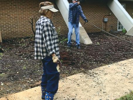 October 2020 Parish Grounds Work Day