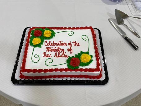 Farewell for Rev. Alicia