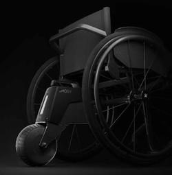 輪椅電動推動器