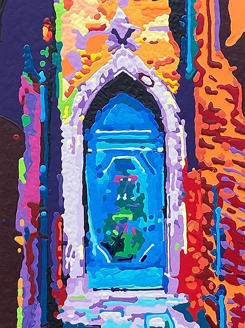 Tür von Angelica