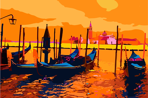 Gondole a San Marco